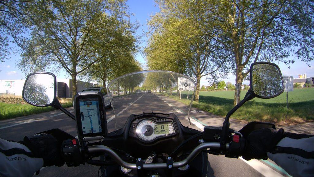 Motorrad in Frankreich